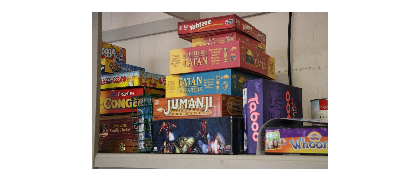 A variety of games offered