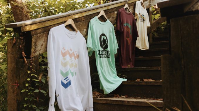 Borderline shirts featured at Dry Run Creek